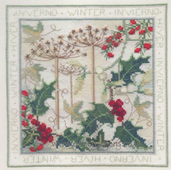 Four Seasons Winter Cross Stitch Kit
